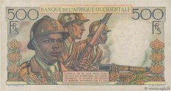 500 Francs FRENCH WEST AFRICA  1948 P.41 BB