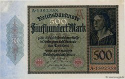 500 Mark GERMANIA  1922 P.073 AU+