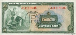 20 Deutsche Mark GERMAN FEDERAL REPUBLIC  1948 P.06b fST+