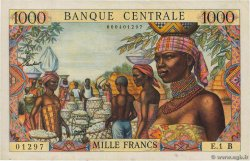 1000 Francs  EQUATORIAL AFRICAN STATES (FRENCH)  1962 P.05b