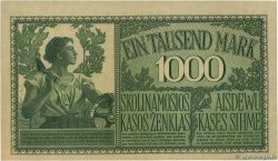 1000 Mark GERMANY Kowno 1918 P.R134b AU