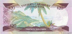 20 Dollars EAST CARIBBEAN STATES  1985 P.24a2 FDC
