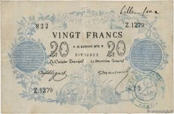 20 Francs type 1871 Faux FRANCE  1872 F.A46.03x pr.TTB