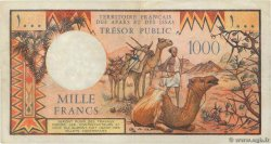 1000 Francs FRENCH AFARS AND ISSAS  1975 P.34 BB