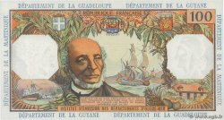 100 Francs FRENCH ANTILLES  1964 P.10b q.FDC