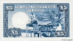 5 Pounds  GAMBIE  1965 P.03a pr.NEUF