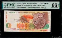 200 Rand Spécimen SUDAFRICA  1994 P.127as FDC