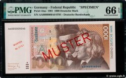 1000 Deutsche Mark Spécimen GERMAN FEDERAL REPUBLIC  1991 P.44as ST