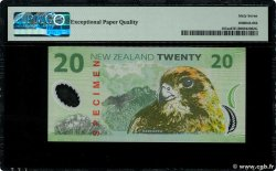 20 Dollars Spécimen NEW ZEALAND  1999 P.187as UNC