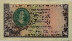 20 Rand  SOUTH AFRICA  1961 P.108a VF+