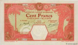 100 Francs DAKAR  FRENCH WEST AFRICA Dakar 1926 P.11Bb