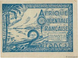 2 Francs  FRENCH WEST AFRICA  1944 P.35