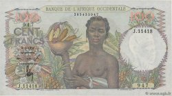 100 Francs  FRENCH WEST AFRICA  1951 P.40