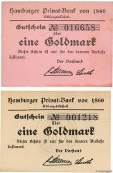 1 Goldmark Lot GERMANIA Hambourg 1923