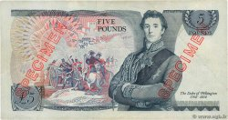 5 Pounds Spécimen ENGLAND  1971 P.378as VF