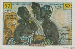 50 Francs  FRENCH WEST AFRICA  1956 P.45