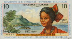 10 Francs  FRENCH ANTILLES  1964 P.08b UNC-