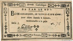 25 Livres Faux FRANCE  1794 Laf.275 XF