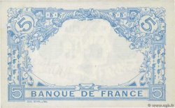5 Francs BLEU  FRANCE  1913 F.02.21 XF+