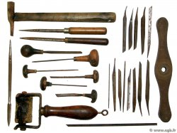 Outils en lot Lot FRANCE  1940 F. TTB