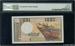 500 Francs  FRENCH AFARS AND ISSAS  1975 P.33 UNC