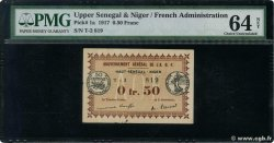 50 Centimes  FRENCH WEST AFRICA  1917 P.01