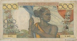 500 Francs  FRENCH WEST AFRICA  1948 P.41