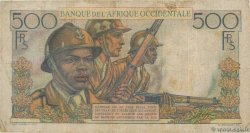 500 Francs  FRENCH WEST AFRICA (1895-1958)  1948 P.41 F