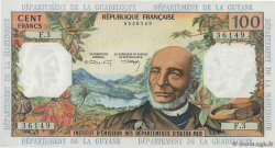 100 Francs  FRENCH ANTILLES  1964 P.10b
