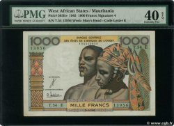 1000 Francs  WEST AFRICAN STATES  1965 P.503Ee