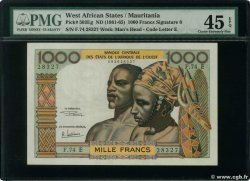 1000 Francs  WEST AFRICAN STATES  1965 P.503Eg XF