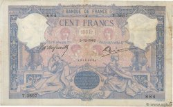 100 Francs BLEU ET ROSE  FRANCE  1902 F.21.16