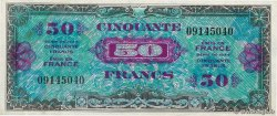 50 Francs DRAPEAU  FRANCE  1944 VF.19.01 SUP