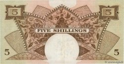 5 Shillings  EAST AFRICA  1961 P.41a XF-