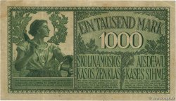 1000 Mark  GERMANY Kowno 1918 P.R134b VF-