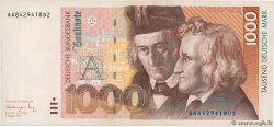 1000 Deutsche Mark  GERMAN FEDERAL REPUBLIC  1991 P.44a