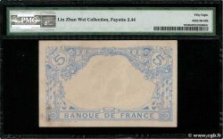 5 Francs BLEU  FRANCE  1916 F.02.44 SPL