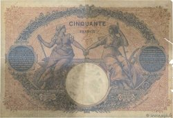 50 Francs BLEU ET ROSE  FRANCE  1900 F.14.12 pr.B