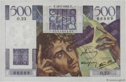 500 Francs CHATEAUBRIAND  FRANCE  1945 F.34.01 SPL