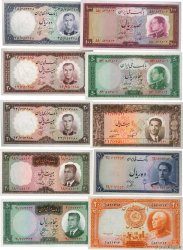 Lot de 10 billets Iran Lot IRAN  1940 P.LOT pr.NEUF