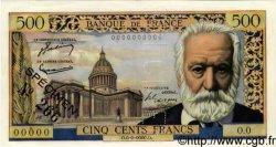 500 Francs VICTOR HUGO FRANCE  1954 F.35.00s1 pr.NEUF