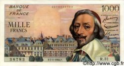 1000 Francs RICHELIEU FRANCE  1954 F.42.04 SUP+