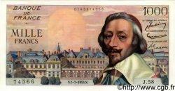 1000 Francs RICHELIEU FRANCE  1954 F.42.06 NEUF