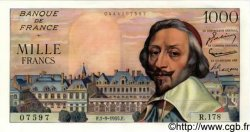 1000 Francs RICHELIEU FRANCE  1955 F.42.15 SPL