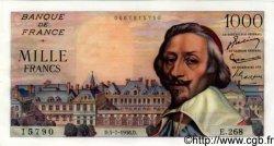 1000 Francs RICHELIEU FRANCE  1956 F.42.21 pr.NEUF