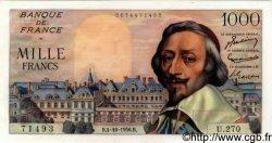 1000 Francs RICHELIEU FRANCE  1956 F.42.22 SPL