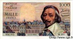 1000 Francs RICHELIEU FRANCE  1956 F.42.24 pr.NEUF