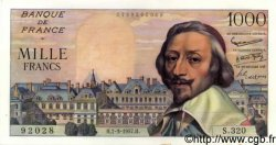 1000 Francs RICHELIEU FRANCE  1957 F.42.25 SUP+