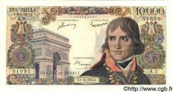 10000 Francs BONAPARTE FRANCE  1955 F.51.01 TTB+ à SUP