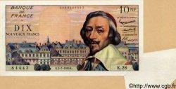 10 Nouveaux Francs RICHELIEU FRANCE  1959 F.57.02 SUP+